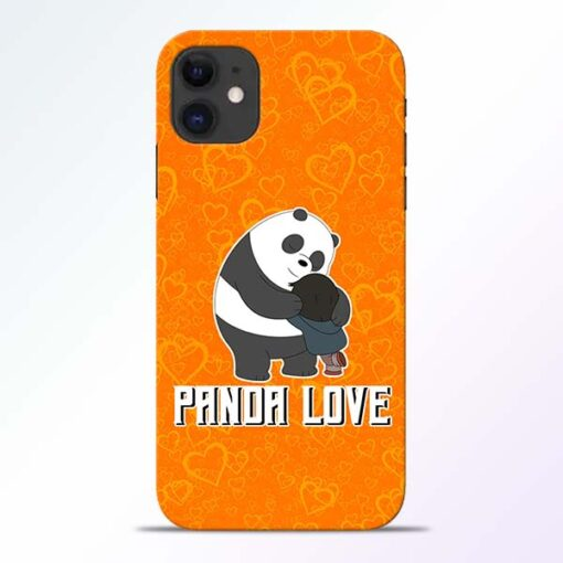 Panda Love iPhone 11 Mobile Cover