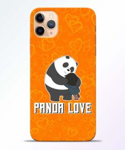 Panda Love iPhone 11 Pro Mobile Cover