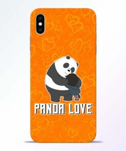 Panda Love iPhone XS Max Mobile Cover