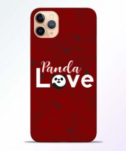Panda Lover iPhone 11 Pro Mobile Cover