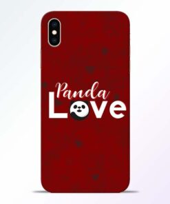 Panda Lover iPhone XS Max Mobile Cover