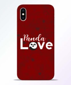Panda Lover iPhone XS Mobile Cover