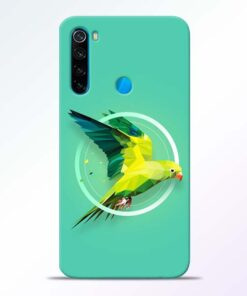 Parrot Art Redmi Note 8 Mobile Cover - CoversGap