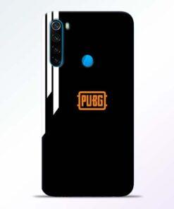 Pubg Lover Redmi Note 8 Mobile Cover - CoversGap