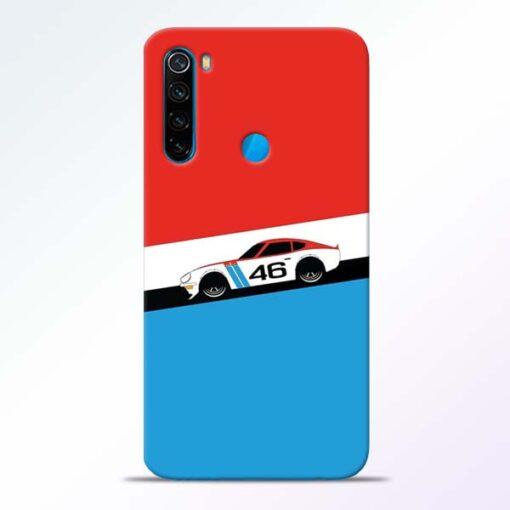 Racing Car Redmi Note 8 Mobile Cover - CoversGap