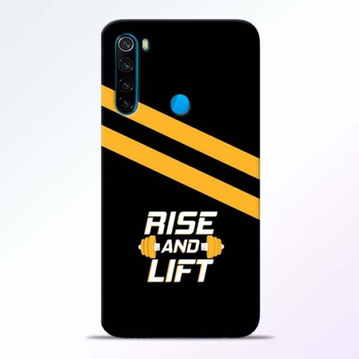 Rise and Lift Redmi Note 8 Mobile Cover - CoversGap
