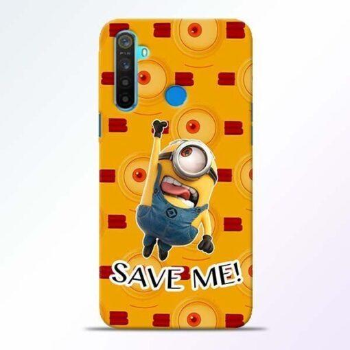 Save Minion Realme 5 Mobile Cover