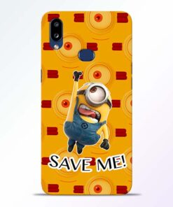 Save Minion Samsung Galaxy A10s Mobile Cover