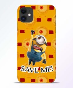 Save Minion iPhone 11 Mobile Cover