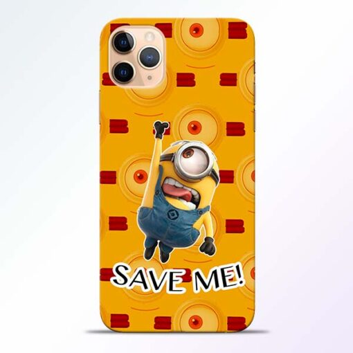 Save Minion iPhone 11 Pro Mobile Cover