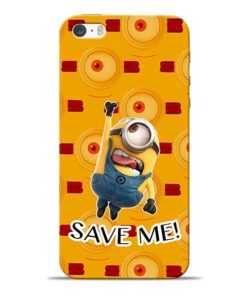 Save Minion iPhone 5s Mobile Cover