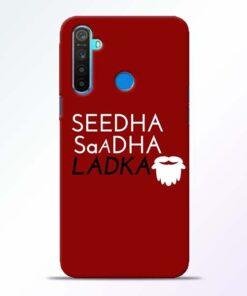Seedha Sadha Ladka Realme 5 Mobile Cover