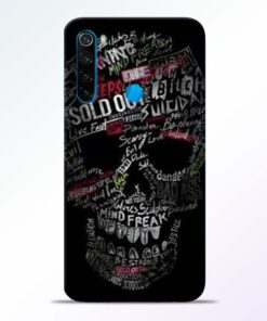 Skull Face Redmi Note 8 Mobile Cover - CoversGap