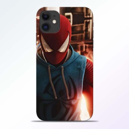 SpiderMan Eye iPhone 11 Mobile Cover