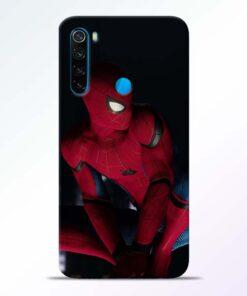 Spiderman Redmi Note 8 Mobile Cover