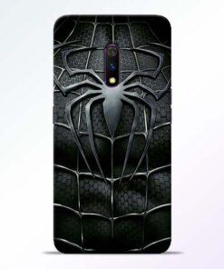 Spiderman Web RealMe X Mobile Cover - CoversGap