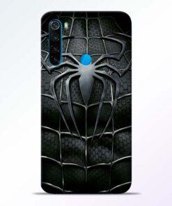 Spiderman Web Redmi Note 8 Mobile Cover