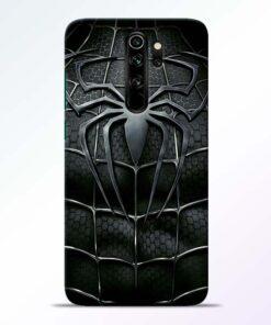 Spiderman Web Redmi Note 8 Pro Mobile Cover