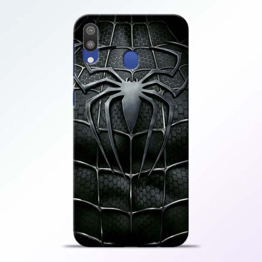 Spiderman Web Samsung M20 Mobile Cover - CoversGap