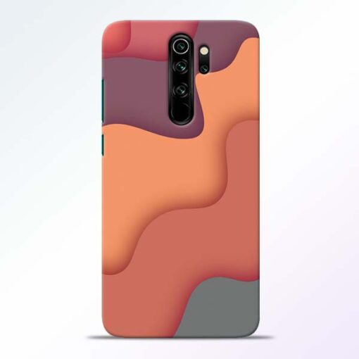 Spill Color Art Redmi Note 8 Pro Mobile Cover - CoversGap