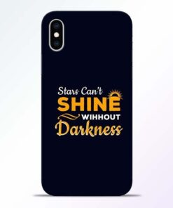 Stars Shine iPhone XS Mobile Cover
