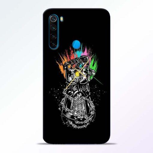 Thanos Hand Redmi Note 8 Mobile Cover