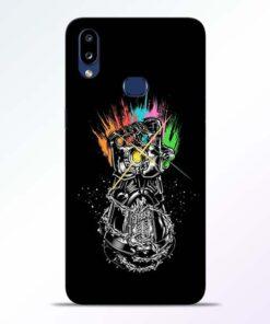 Thanos Hand Samsung Galaxy A10s Mobile Cover