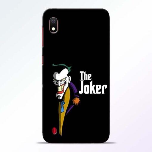The Joker Face Samsung A10 Mobile Cover - CoversGap