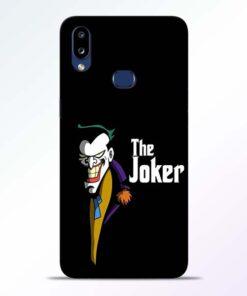 The Joker Face Samsung Galaxy A10s Mobile Cover