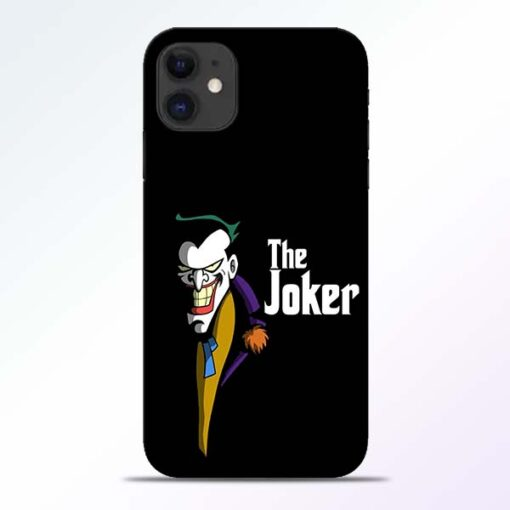 The Joker Face iPhone 11 Mobile Cover