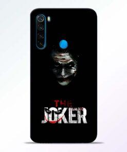 The Joker Redmi Note 8 Mobile Cover