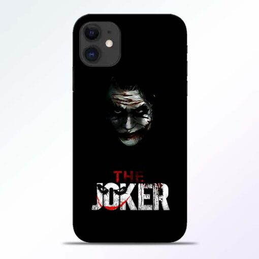 The Joker iPhone 11 Mobile Cover