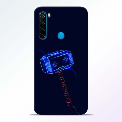 Thor Hammer Redmi Note 8 Mobile Cover