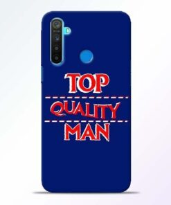 Top Quality Man Realme 5 Mobile Cover