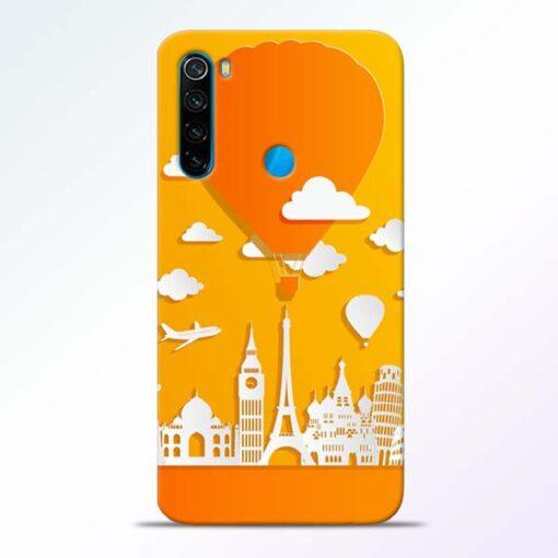 Traveller Redmi Note 8 Mobile Cover - CoversGap