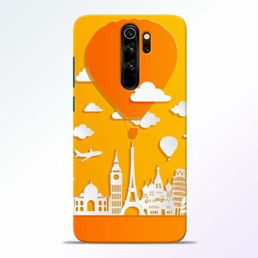 Traveller Redmi Note 8 Pro Mobile Cover - CoversGap