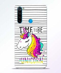 Unicorn Horse Redmi Note 8 Mobile Cover - CoversGap