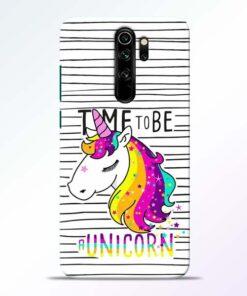 Unicorn Horse Redmi Note 8 Pro Mobile Cover - CoversGap