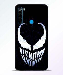 Venom Face Redmi Note 8 Mobile Cover