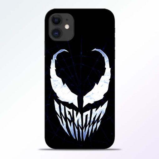 Venom Face iPhone 11 Mobile Cover