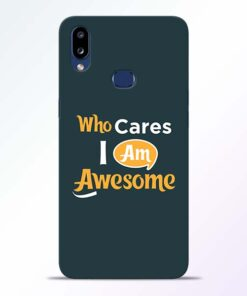 Who Cares Samsung Galaxy A10s Mobile Cover