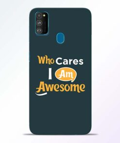 Who Cares Samsung Galaxy M30s Mobile Cover