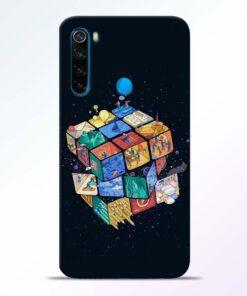 Wolrd Dice Redmi Note 8 Mobile Cover - CoversGap