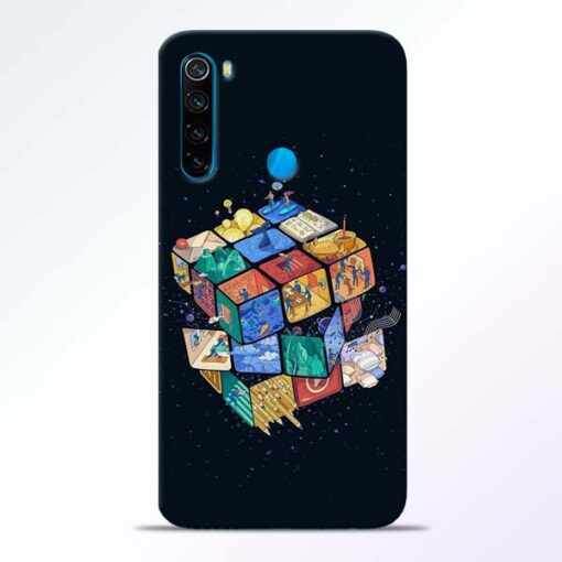 Wolrd Dice Redmi Note 8 Mobile Cover - CoversGap