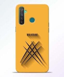 Wolverine RealMe 5 Pro Mobile Cover - CoversGap