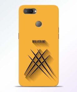 Wolverine RealMe U1 Mobile Cover - CoversGap