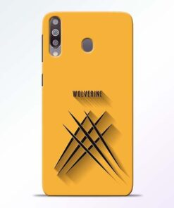 Wolverine Samsung M30 Mobile Cover - CoversGap