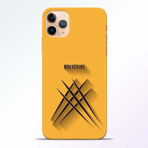Wolverine iPhone 11 Pro Mobile Cover