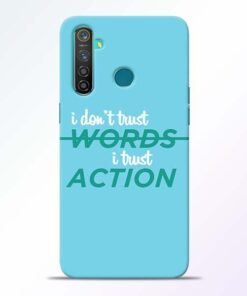 Words Action Realme 5 Pro Mobile Cover