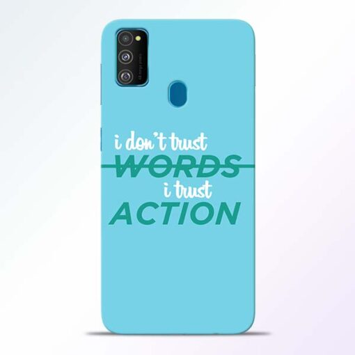 Words Action Samsung Galaxy M30s Mobile Cover